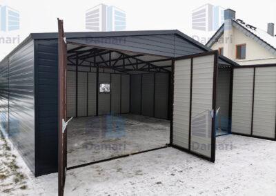 bramy garażowe dwuskrzydłowe